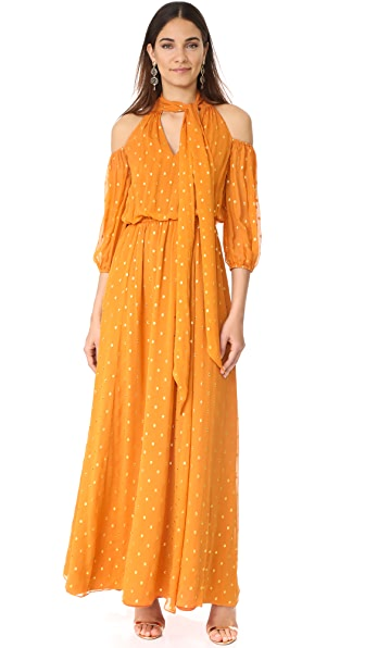 Shoshanna Laurel Maxi Dress - Turmeric