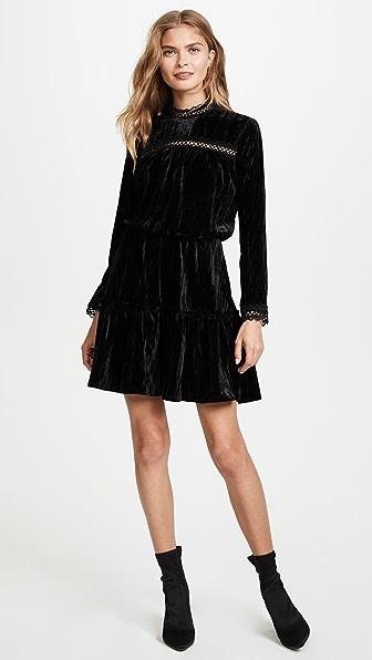 Shoshanna Primrose Velvet Dress