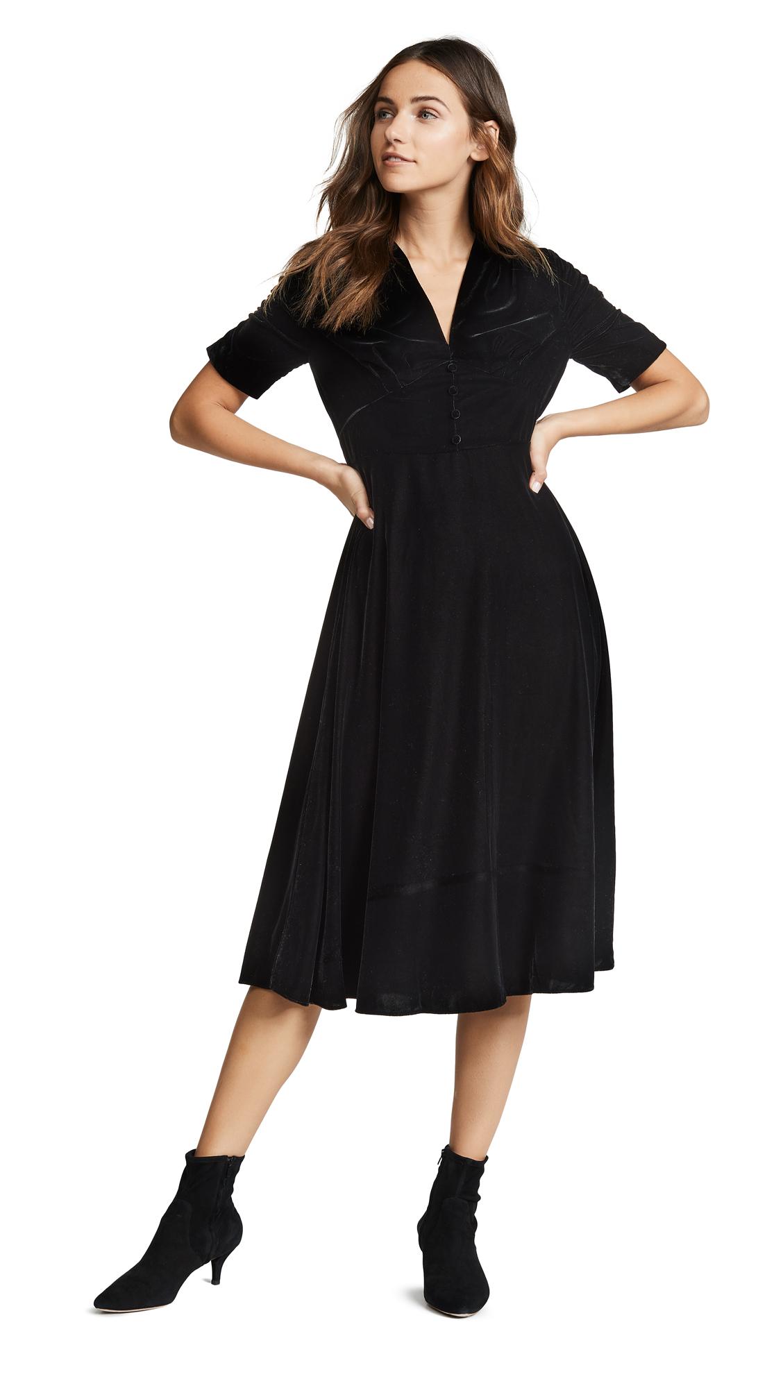 9b27ac026e Shoshanna Lakewood Velvet Dress