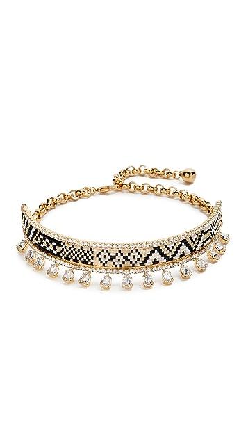 Shourouk Bastet Choker Necklace