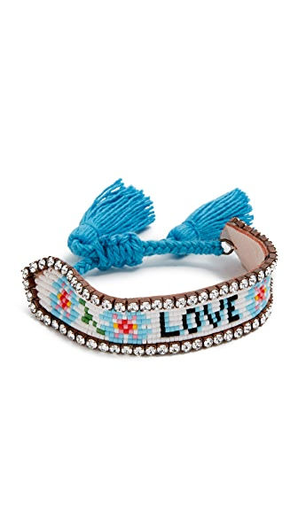 Shourouk Love Flower Bracelet