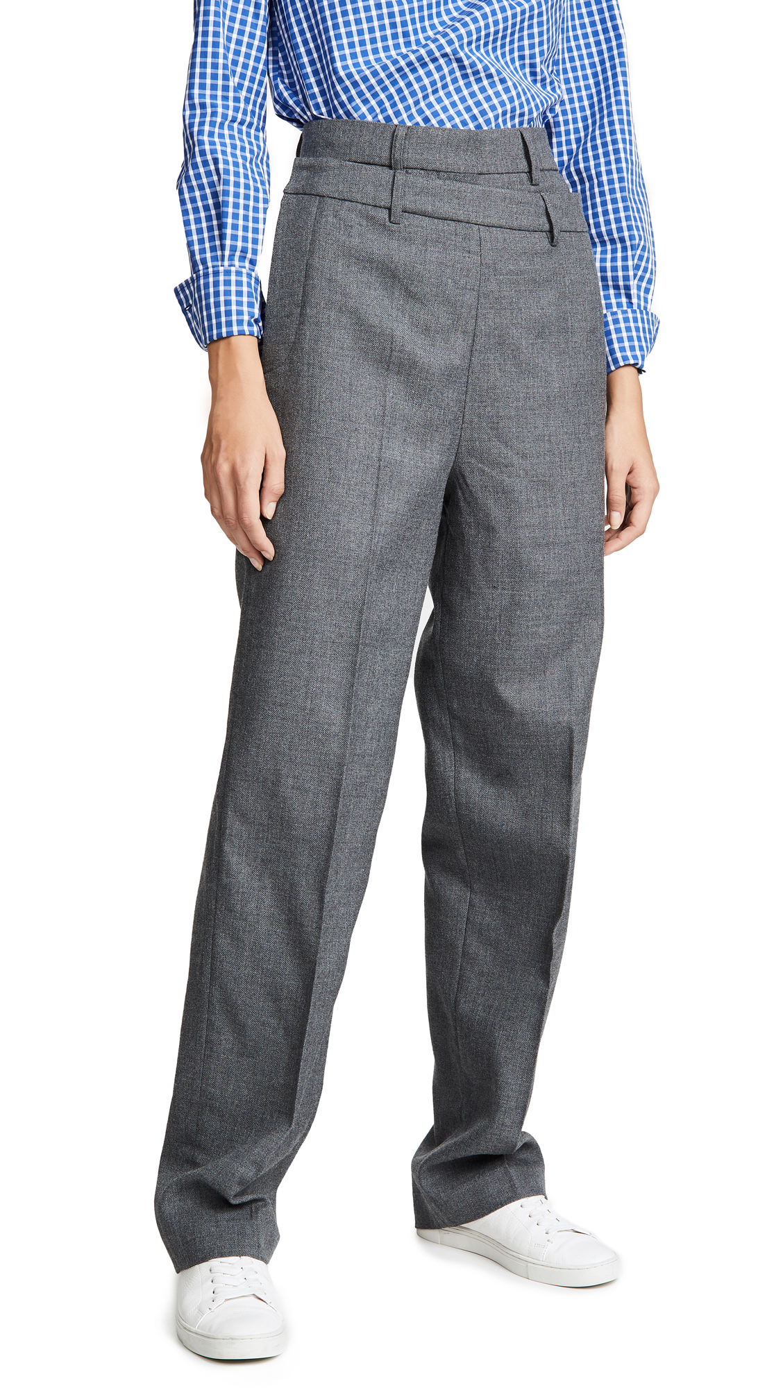 Double Layer Trousers, Grey