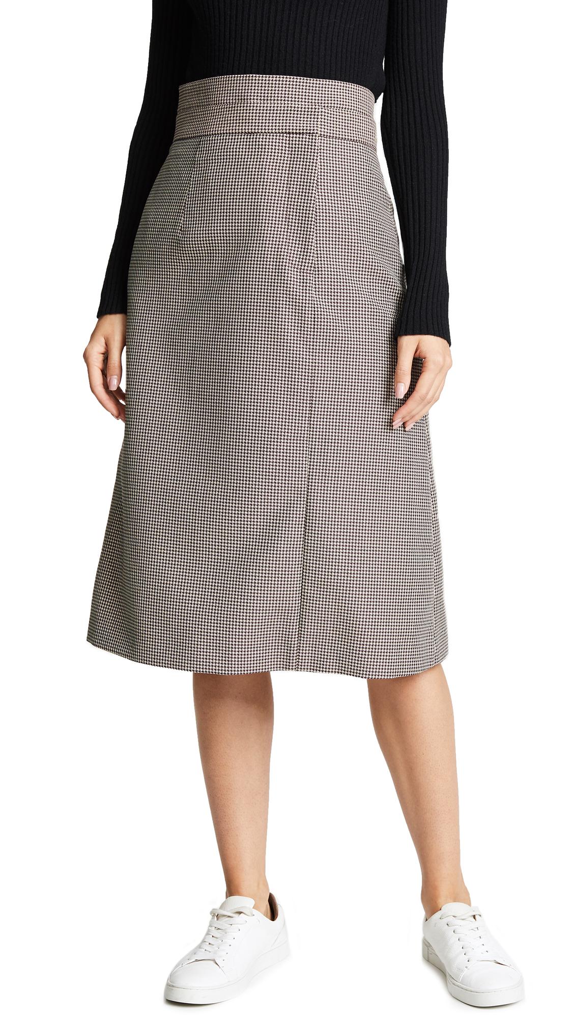 Double Layer Skirt, Khaki