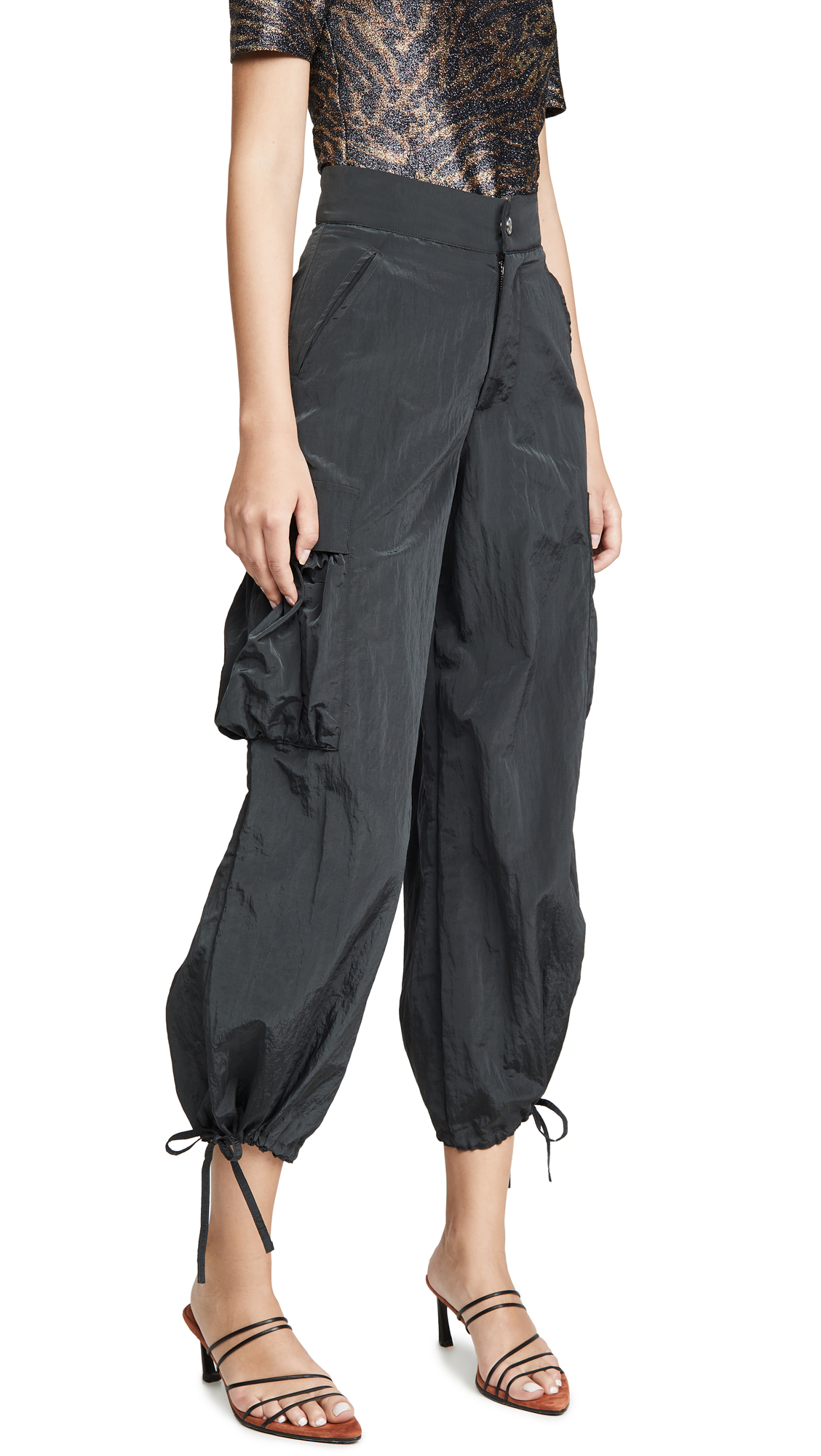 Buy Simon Miller online - photo of Simon Miller Draw String Cargo Pants