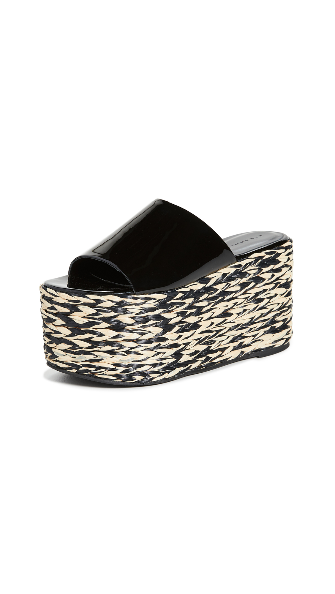 Buy Simon Miller online - photo of Simon Miller Blackout Platform Espadrilles