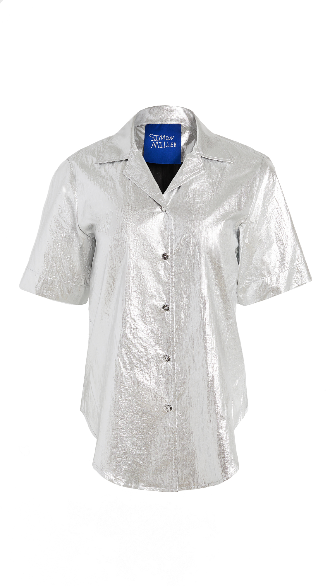 Simon Miller Dade Short Sleeve Button Down – 50% Off Sale