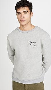 Simon Miller Long Sleeve Crew Neck Sweatshirt