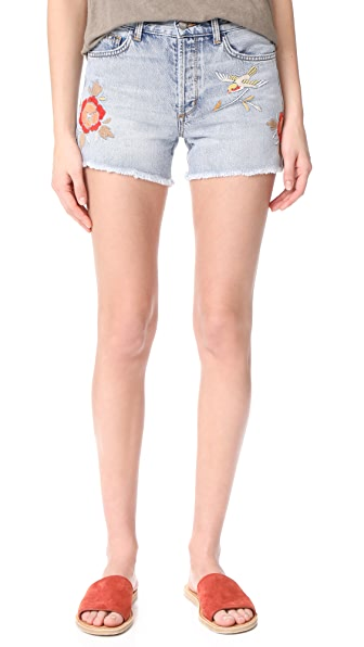 Avery Denim Boy Shorts