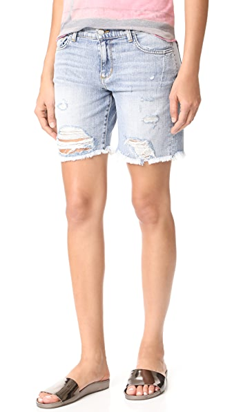 Siwy Valetta Bermuda Shorts In Blue Canyon