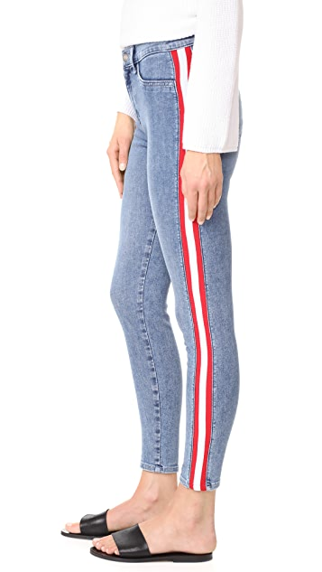 Siwy Mattie High Waist Tuxedo Skinny Jeans