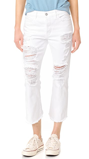 Siwy Jenna Louise Twisted Seam Crop Flare Jeans