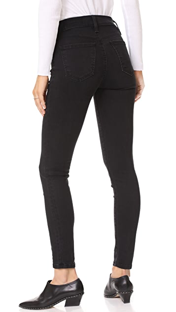 Siwy Olga High Rise Front Zip Skinny Jeans