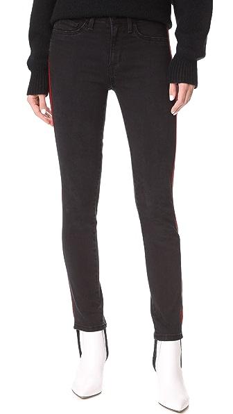 Siwy Marion Sport Stirrup Jeans In Black Mirror