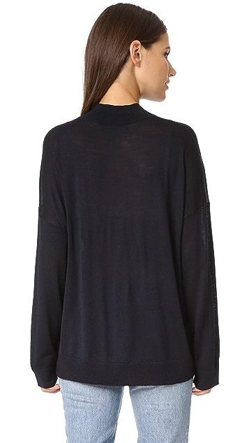6397 Mock Turtleneck Sweater