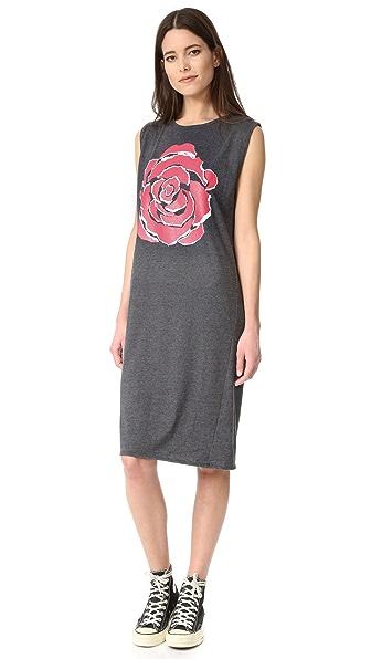 6397 Rose Muscle Dress
