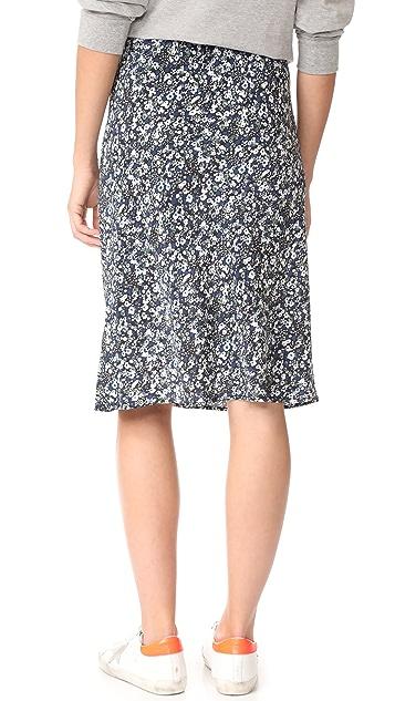6397 Floral Slip Skirt