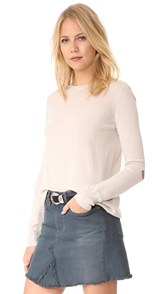 6397 Slash Cashmere Sweater - Ash