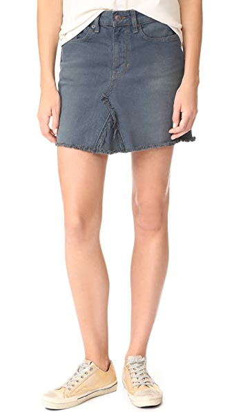 6397 Od Miniskirt - OD Painted Grey