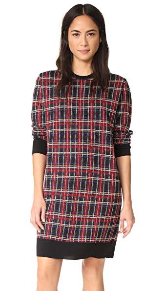 6397 Plaid Dress - Stewart Plaid