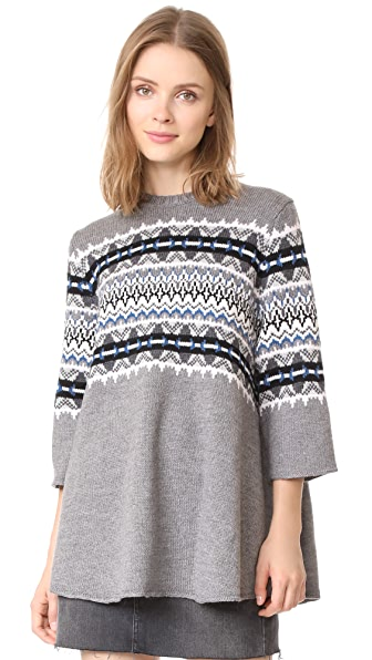 6397 Fair Isle Sweater