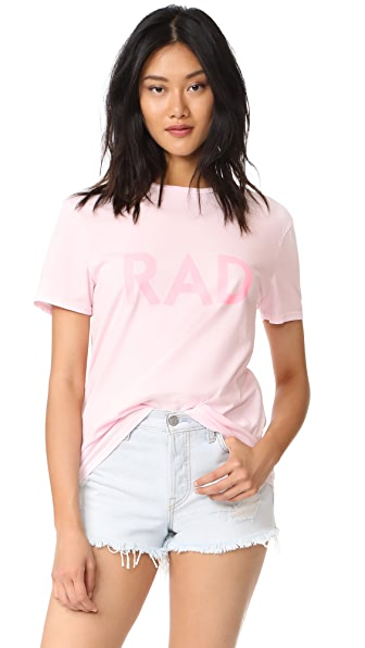 6397 Rad Tee In Pink