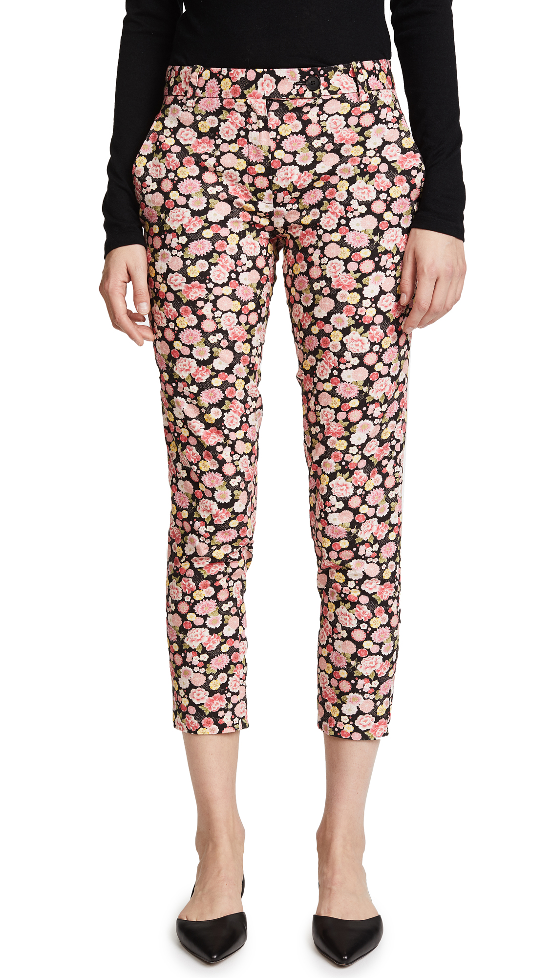 6397 Cropped Trousers In Floral