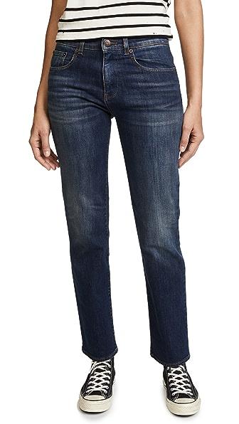 6397 DK Straight Leg Jeans In Blue