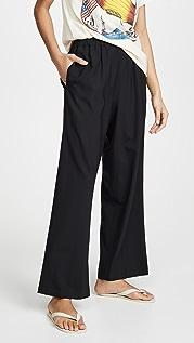 6397 Шерстяные широкие брюки без застежки Tropical