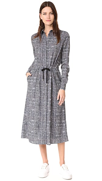 Stella Jean Long Sleeve Dress