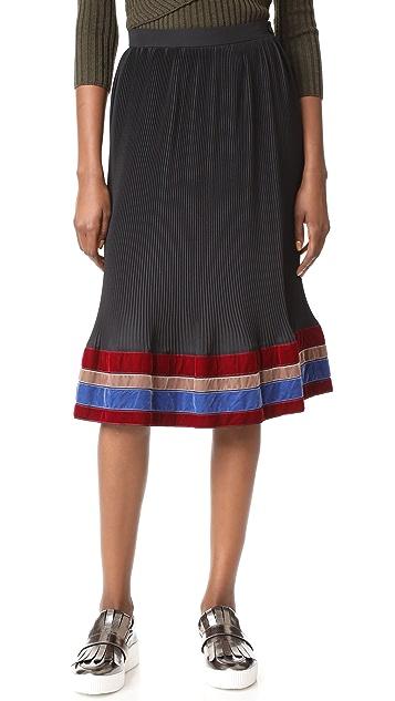 Stella Jean Ruffle Skirt