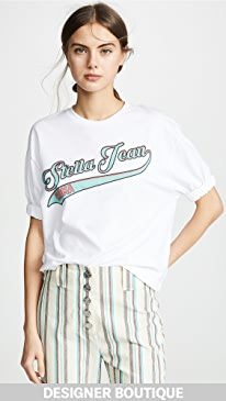 Stella Jean Stella Jeans Logo Tee Top Reviews