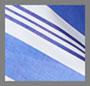 синий/белый