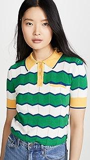 Stella Jean Рубашка-поло в полоску