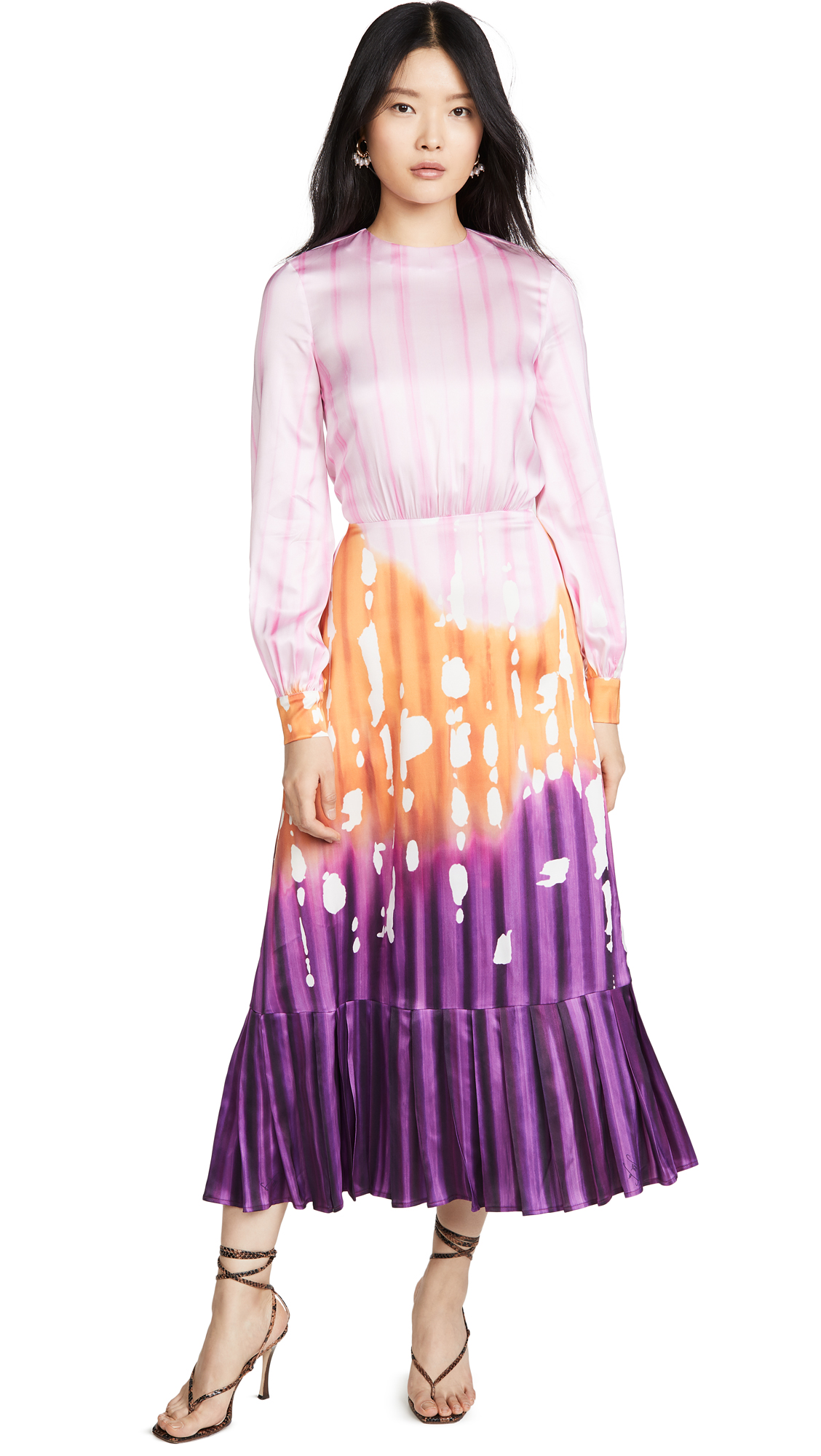 Stella Jean Cady Iris Dress - 40% Off Sale