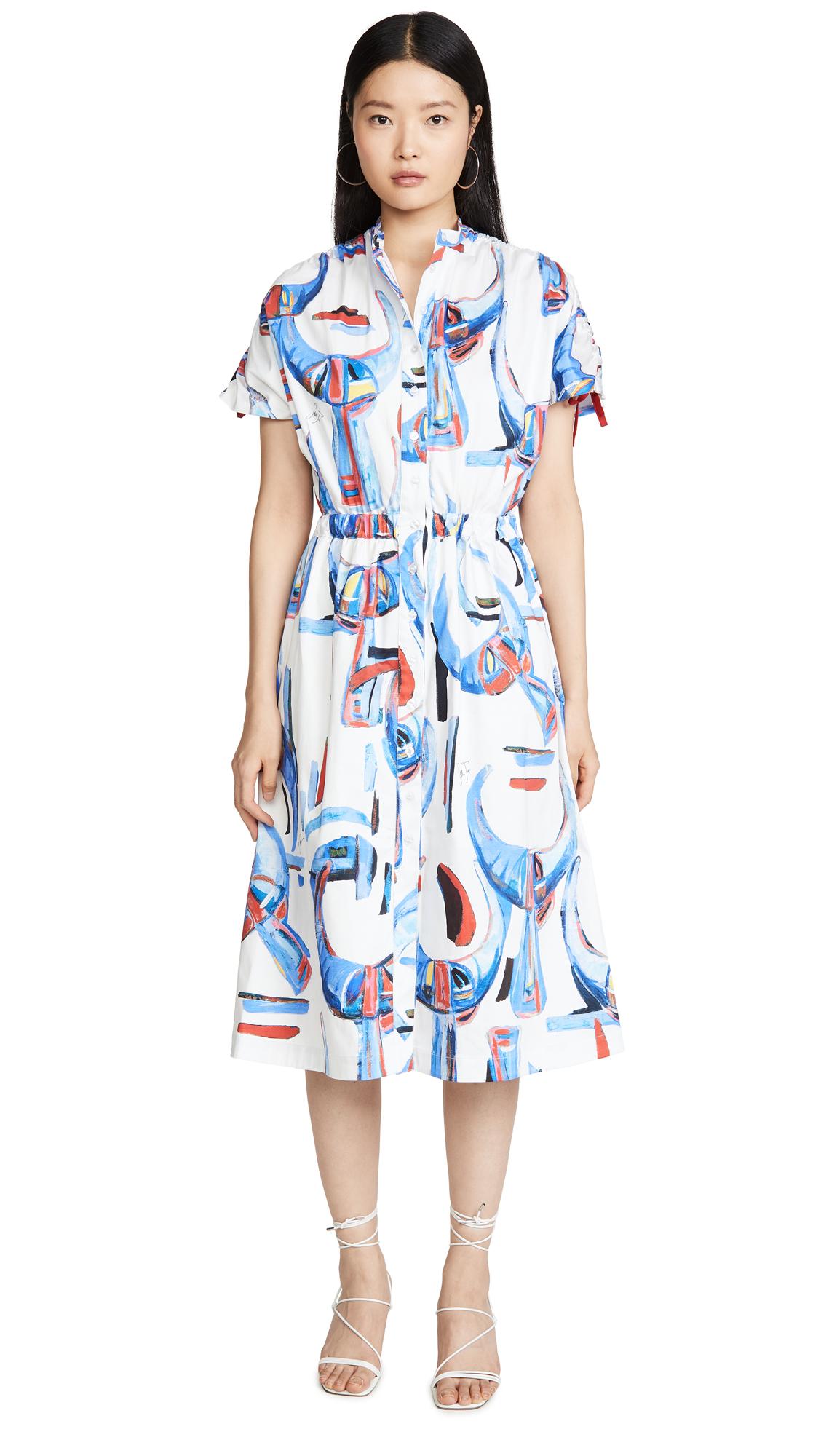 Stella Jean Rasatello Corna Dress - 40% Off Sale
