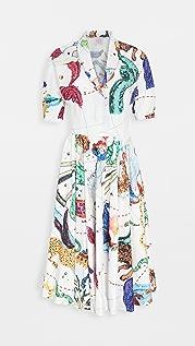 Stella Jean Printed Shirtdress