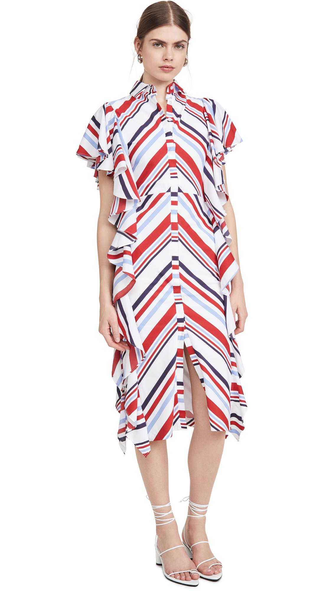 Stella Jean Abito Popeline Riga Dress - 50% Off Sale