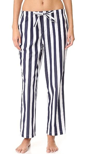 Sleepy Jones Tent Stripe Marina Pajama Pants