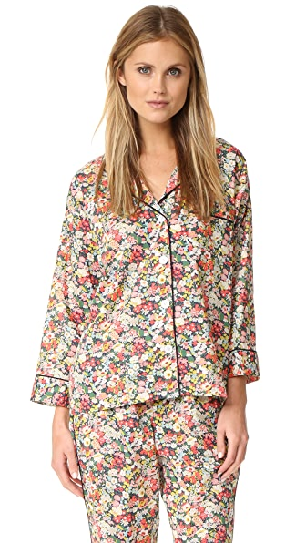 Sleepy Jones Liberty Marina Pajama Shirt