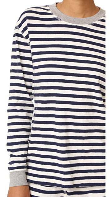 Sleepy Jones Helen Pajama Top