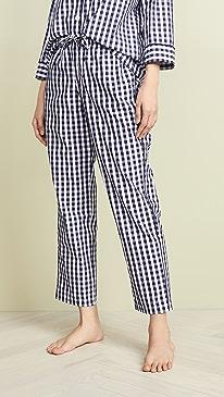 7922972e51e7 Sleepy Jones. Gingham Marina Pajama Pants