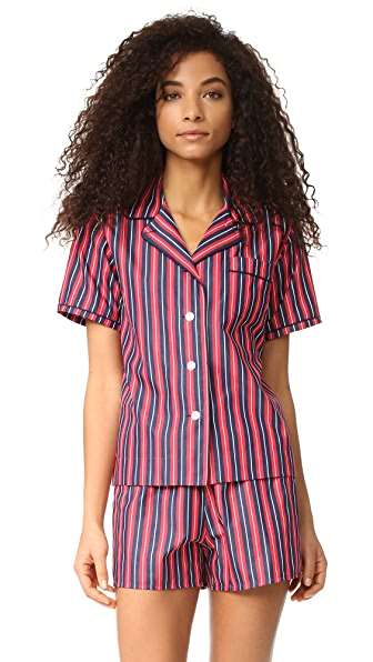 Sleepy Jones Corita Pajama Shirt