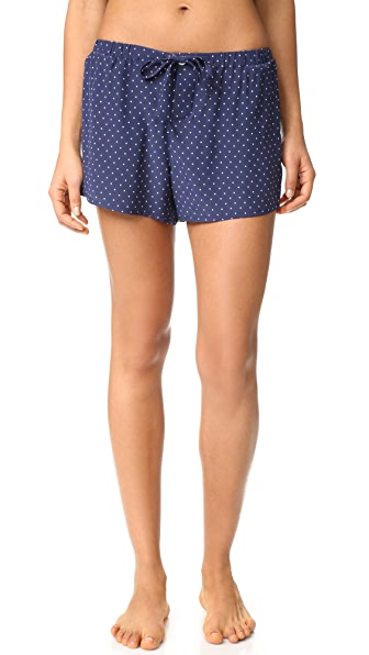 Sleepy Jones Silk Paloma Pajama Shorts