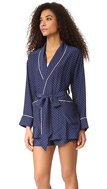 Sleepy Jones Angelli Smoking Jacket