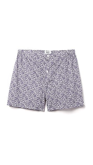 Sleepy Jones Jasper Liberty Glenjade Floral Print Boxer Shorts