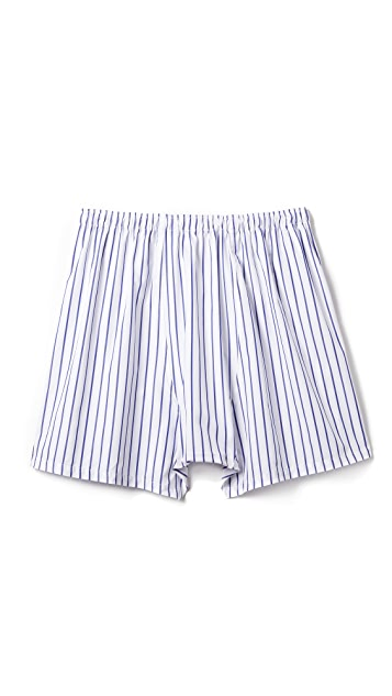 Sleepy Jones Jasper Wide Stripe Boxer Shorts