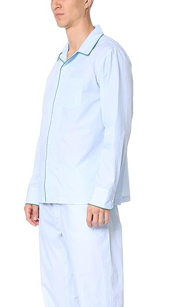 Sleepy Jones Henry End on End Pajama Shirt