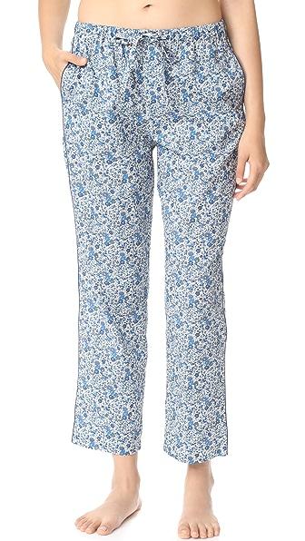 Sleepy Jones Marina Pajama Pants - Blue