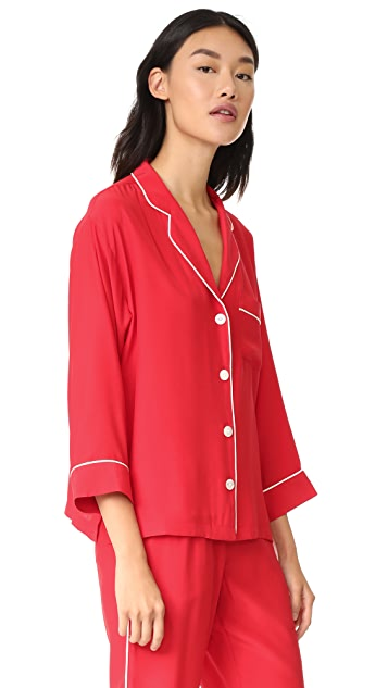 Sleepy Jones Silk Marina Shirt