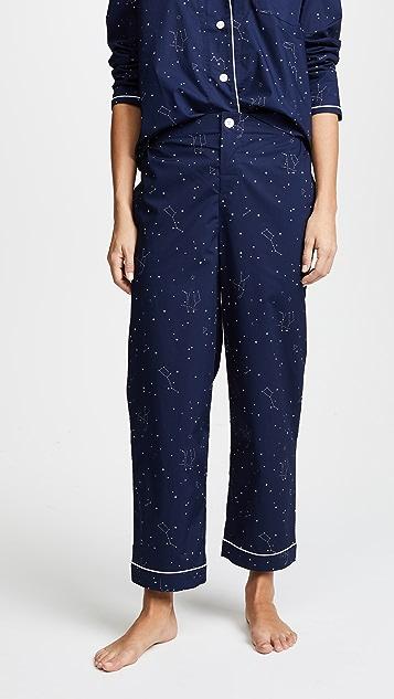 Sleepy Jones Bishop Constellation Pajama Set